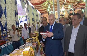 محافظ أسوان يفتتح معرض أهلا رمضان