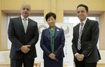 """سفارة مصر بطوكيو تستقبل فريق برنامج """"مصر تستطيع"""" للتحضير لموسم جديد"""