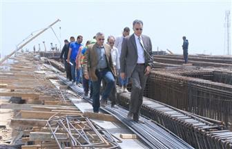 هشام عرفات يتابع أعمال تنفيذ محاور النقل التنموية الجديدة غرب الإسكندرية | صور