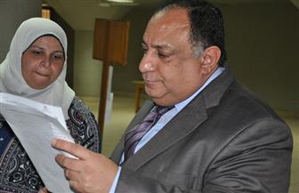 رئيس جامعة حلوان يتفقد سير الامتحانات | صور