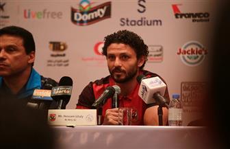 حسام غالي يوضح موقفه من المشاركة في مباراة الأهلي والمصري