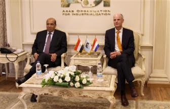 وزير الخارجية الهولندي يشيد بمشروعات الهيئة العربية للتصنيع في مجال الزراعات المحمية