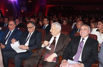 بدء احتفالية الأهرام لتكريم طارق عامر وعدد من محافظي بنوك الدول العربية | صور