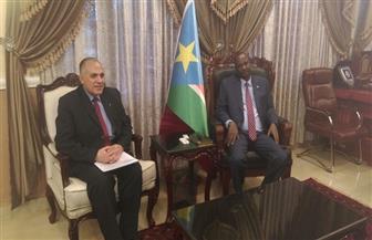 رساله شفهية من الرئيس السيسي لنظيره بجنوب السودان يحملها وزير الري