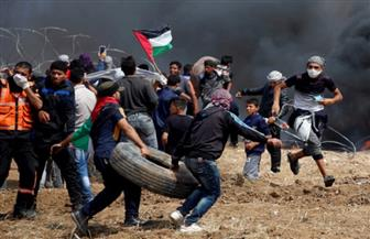استشهاد فلسطيني برصاص الاحتلال الإسرائيلي خلال الاحتجاجات على الحدود