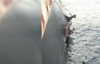 سحب سفينة تركية تعرضت لانفجار إلى ميناء سعودي لفحص الأسباب