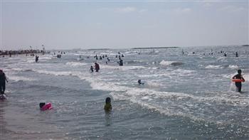 وقف خدمات الإنقاذ على شواطئ رأس البر اعتبارا من أول أكتوبر