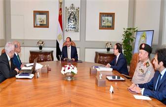 الرئيس السيسي يوجه بضرورة دقة تنفيذ مشروعات البنية التحتية الخاصة بإستراتيجية تطوير التعليم المدرسي