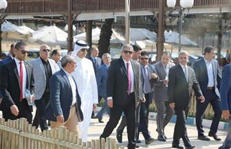 خالد عبدالعزيز يستقبل وزير شئون الشباب والرياضة بمملكة البحرين  | صور