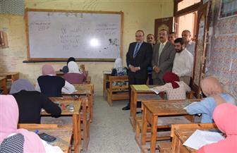 محافظ بني سويف يتابع سير امتحانات  الشهادة الإعدادية في يومها الثاني | صور