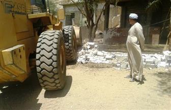 إزالة 82 حالة تعد على الأراضى الزراعية فى 10 مراكز بسوهاج