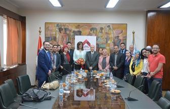 """وزيرة الهجرة لـ""""بوابة الأهرام"""": مناقشة الاستفادة من """"العودة للجذور"""" بـ""""النواب"""" الأسبوع الجاري  صور"""