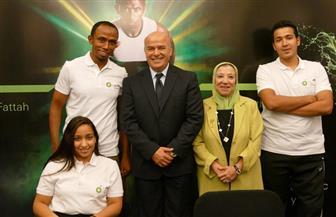 """إسماعيل الفار: """"الشباب والرياضة"""" تسعى لتوفير الدعم الكافي لأبطال مصر الأولمبيين والبارلمبيين"""