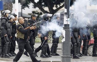 مواجهات ليلية بين محتجين وقوات الأمن التونسية في سوسة