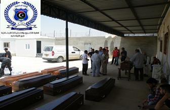 نقل رفات جثامين 20 مصريا ذبحهم تنظيم داعش في ليبيا عام 2015 | صور