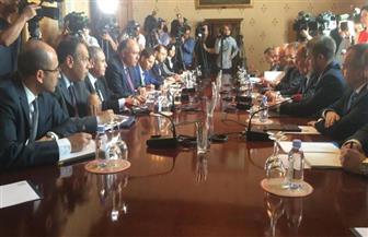 وزيرا خارجية مصر وروسيا يعقدان جلسة مشاورات في إطار اجتماعات صيغة 2+2