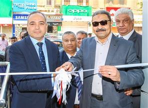 """عبد الحليم يفتتح مكتب بريد """"العباسية ثان"""" بعد تطويره وتحويله إلى مركز خدمات متكامل"""