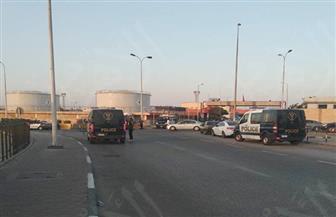 استعدادات مكثفة بمحيط مطار القاهرة لاستقبال رفات شهداء ليبيا | صور وفيديو