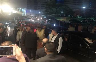 وصول رفات شهداء مصر ضحايا مذبحة ليبيا إلى المطار.. والبابا تواضروس في استقبالها | فيديو