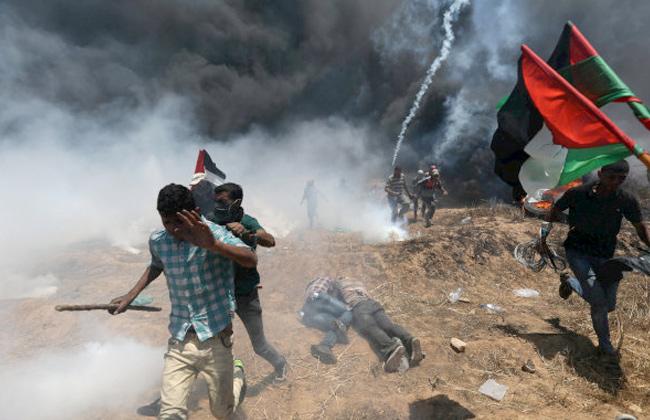 الفلسطينيون يستعدون غدا لجولة احتجاجات جديدة شعارها  من غزة إلى حيفا