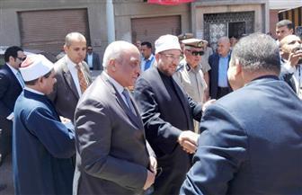 وصول وزيري الأوقاف والآثار إلى رشيد لافتتاح تجديدات مسجدين أثريين| صور