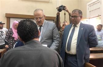 رئيس جامعة القاهرة يطالب بتأمين مقار الامتحانات.. ولجان لذوى الإعاقة