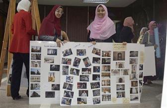 """""""حلوة يا بلدي"""" معرض مصور لطلاب الإعلام بآداب المنوفية   صور"""