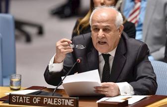 مندوب فلسطين لدى الأمم المتحدة: لا يمكن للمجلس التزام الصمت عن انتهاكات الاحتلال الإسرائيلي