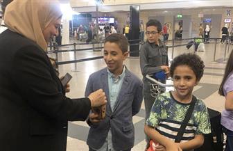 """""""مصر للطيران"""" توزع فوانيس رمضان على عملائها بمناسبة الشهر الكريم"""