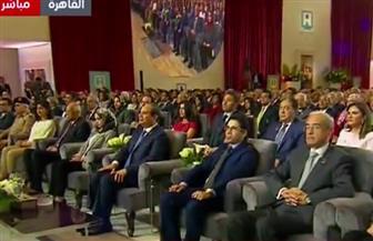 انطلاق فعاليات المؤتمر الوطني الخامس للشباب بحضور الرئيس السيسي بالقاهرة