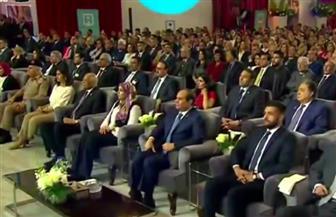 الرئيس السيسي يشهد فعاليات الجلسة الأولى بمؤتمر الشباب لتحليل المشهد السياسي بمصر