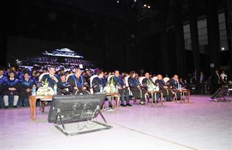 وزير التعليم العالي يشهد حفل تخريج دفعة جديدة من جامعة أسلسكا   صور