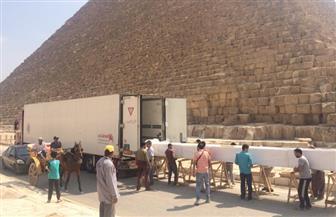 المتحف المصري الكبير يستقبل 180 قطعة أثرية جديدة | صور