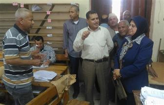بدء أعمال كنترول الشهادة الإعدادية بمحافظة كفرالشيخ بعد انتهاء الامتحانات | صور