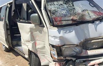 مصرع شخص وإصابة 24 فى حادث تصادم بالبحيرة