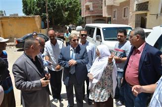 محافظ الإسماعيلية يتفقد مشروع تطوير منطقة الشيخ زايد بتكلفة 6.6 مليون جنيه