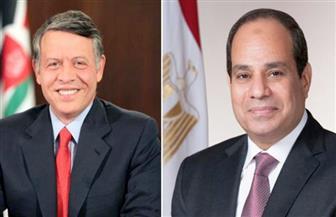 الرئيس السيسي يبحث مع عبدالله الثاني في اتصال هاتفي ملفات التعاون وقضايا المنطقة