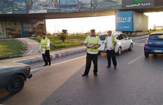 استمرار حملات التوعية المرورية بالطرق على مستوى الجمهورية | صور