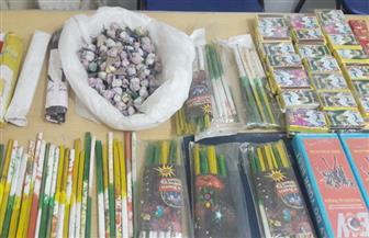 ضبط 1300 صاروخ ألعاب نارية بالقناطر الخيرية