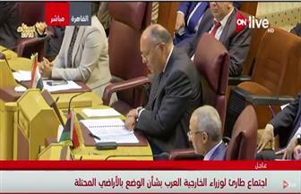 سامح شكري: عروبة القدس غير قابلة للتفاوض.. ويجب التحرك ضد ضرب الاحتلال المتظاهرين العزل