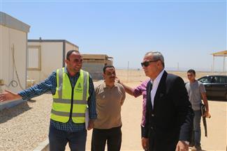 محافظ قنا يتفقد أعمال المرحلة الأولى بالتجمع العمرانى الجديد غرب المحافظة | صور