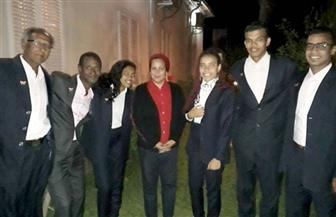 فرق أسوان للفنون الشعبية تصل إريتريا  للمشاركة في الاحتفالات الرمضانية | صور