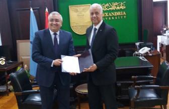 قرار جمهوري بتعيين سعيد محمد عبد القادر عميدًا لكلية الهندسة بجامعة الإسكندرية |صور