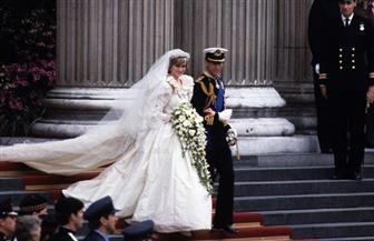 زهور ديانا المفضلة تنتشر في أرجاء كنيسة سانت جورج احتفالا بزفاف الأمير هاري