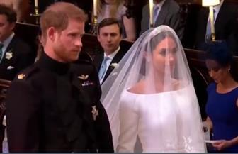 """بدء زفاف الأمير هاري وميجان ماركل.. والزوجان يتعهدان بـ""""الحب والوفاء"""""""