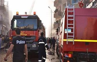 النيابة تحقق في حريق سوق بولاق الدكرور