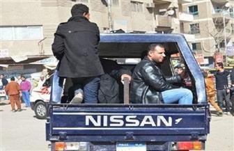 ضبط 9 متهمين بحوزتهم 182 طربة من مخدر الحشيش بمنطقة أبو الغيط بالقليوبية