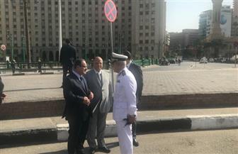جولة لوزير الداخلية بمحافظتى القاهرة والجيزة لتفقد الحالة الأمنية والمرورية   صور