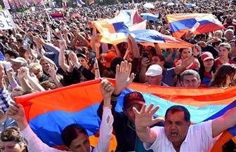 العصيان المدنى بأرمينيا يغلق الطرق المؤدية للعاصمة