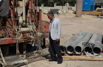 رئيس قطاع المشروعات بوزارة الآثار يتفقد أعمال مشروع كوم الشقافة بالإسكندرية